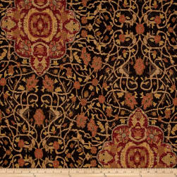 Ralph Lauren Home LCF50555F Canonbury Tapestry Ebony Fabric