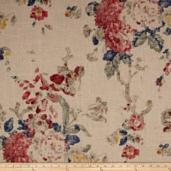 Ralph Lauren Home Jardin Floral Summer Linen Fabric