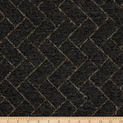Boucle Brick Quilted Upholstery Charcoal