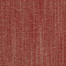 Brixton Linen Blend Chenille Ruby Fabric
