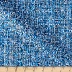 Suntastic Outdoor Basketweave O'Fiddlestix Brightblue Mix Fabric