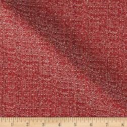 Suntastic Outdoor Basketweave O'Fiddlestix Red Mix Fabric