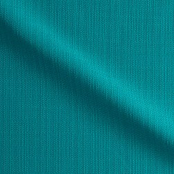 Suntastic Outdoor Basketweave O'Top Linen Turquoise Fabric
