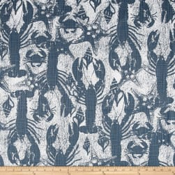 Premier Prints Sand Runner Cello Blue Fabric