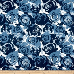 Premier Prints Farrah Prussian Blue Fabric