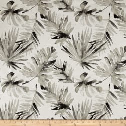 Premier Prints Frond Flax Basketweave Sable Fabric