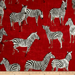 Home Accent Africana Flame Fabric