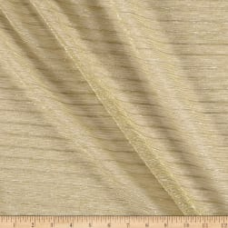 Starlight Expo Sheer Slinky Knit Gold Fabric