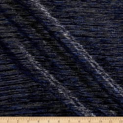 Starlight Expo Sheer Slinky Knit Blue/Silver Fabric