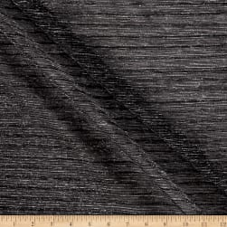 Starlight Expo Sheer Slinky Knit Black/Silver Fabric