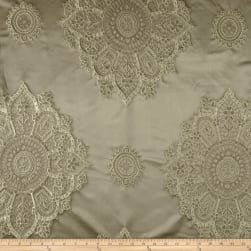 Starlight Laurier Satin Jacquard Taupe