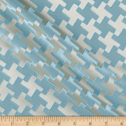 Starlight Rattle Jacquard Turquoise Fabric
