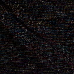 Kaufman Essex Yarn Dyed Metallic Linen Blend Rainbow