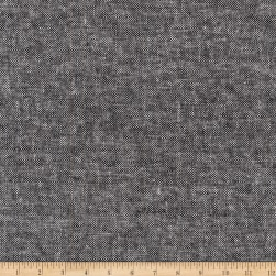 Kaufman Essex Linen Canvas Yard Dyed Black Fabric