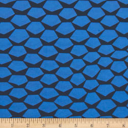 Kaufman Manhattan Cotton Stretch Poplin Blue Fabric