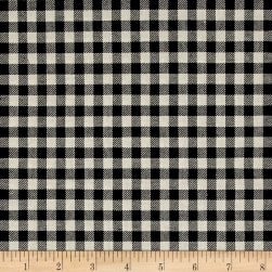 Kaufman Sevenberry: Classic Plaid Twill Plaid Pepper Fabric