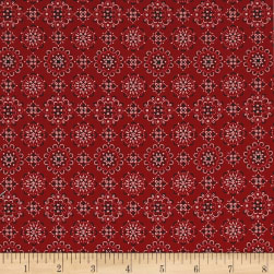 Kaufman Sevenberry: Bandana Red Fabric