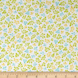 Kaufman Monkey Hangout Flannel Branches Garden Fabric
