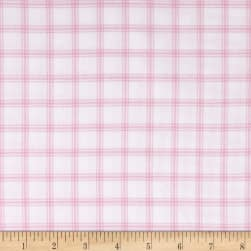 Kaufman Brooklyn Plaid Flannel Petal Fabric