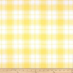 Kaufman Brooklyn Plaid Flannel Bumble Bee Fabric
