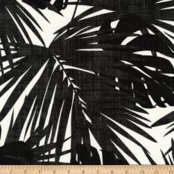 Kaufman Sevenberry Island Paradise Canvas Black Fabric