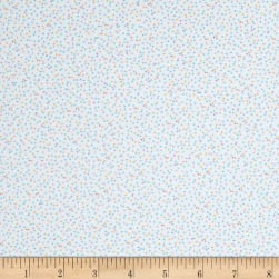 Kaufman Baby Bunting Dots Flannel Pastel Fabric