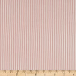 Telio Colorado Poly Faille Stripe Pink Fabric