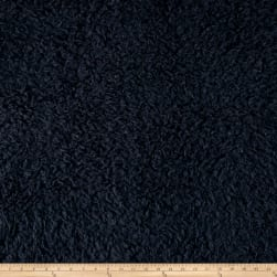 Telio Shaggy Faux Fur Navy Fabric