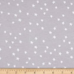 Cotton + Steel Jersey Knit Hello Starry Grey Fabric