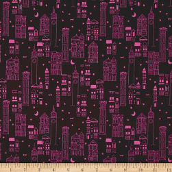Cotton + Steel Lawn Lawnquilt Metropolis Wine Fabric