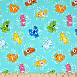 Care Bears Belly Badge Turquoise Fabric