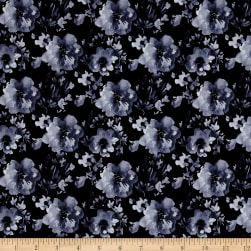 Camelot Collection Blossom Indigo Fabric