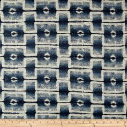 Wesley Mancini Home Jacquard Progressive Blues Fabric