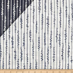 Wesley Mancini Home Jacquard Twiner Cobalt Fabric