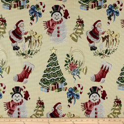 Christmas Craze Santa & Friends Jacquard