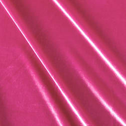 Stretch Velvet Fuschia Fabric