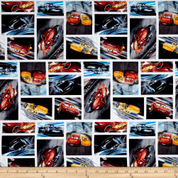 Disney Pixar Cars 3 Character Toss Multi Fabric