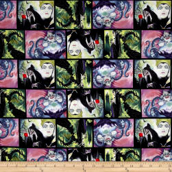 Disney Villains Villains Patch Movie Art Multi Fabric