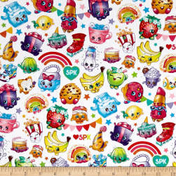 Moose Shopkins Packed Rainbow Celebration Multi Fabric