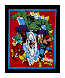 "Marvel Retro Comics Retro Comics 36"" Panel Multi"