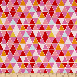Monaluna Organic Juicy Mosaic Canvas Fabric