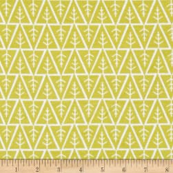 Monaluna Organic Interlock Knit Little Forest Fabric