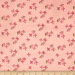 Monaluna Organic Bloom Double Gauze Blossoms Fabric