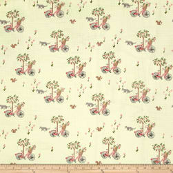 Monaluna Organic Bloom Double Gauze Lazy Sunday Fabric