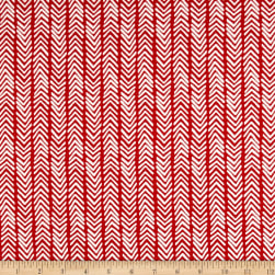Monaluna Organic Simple Life Herringbone Canvas Fabric