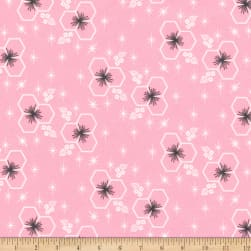 Kaufman Palm Canyon Geo Pink Fabric