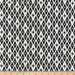 Kaufman Palm Canyon Diamonds Black Fabric