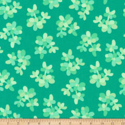 Kaufman Terrarium Branches Mint Fabric