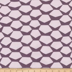 Kaufman Terrarium Gemstones Plum Fabric