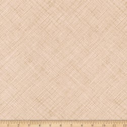 Kaufman Architextures Crosshatch Parchment Fabric